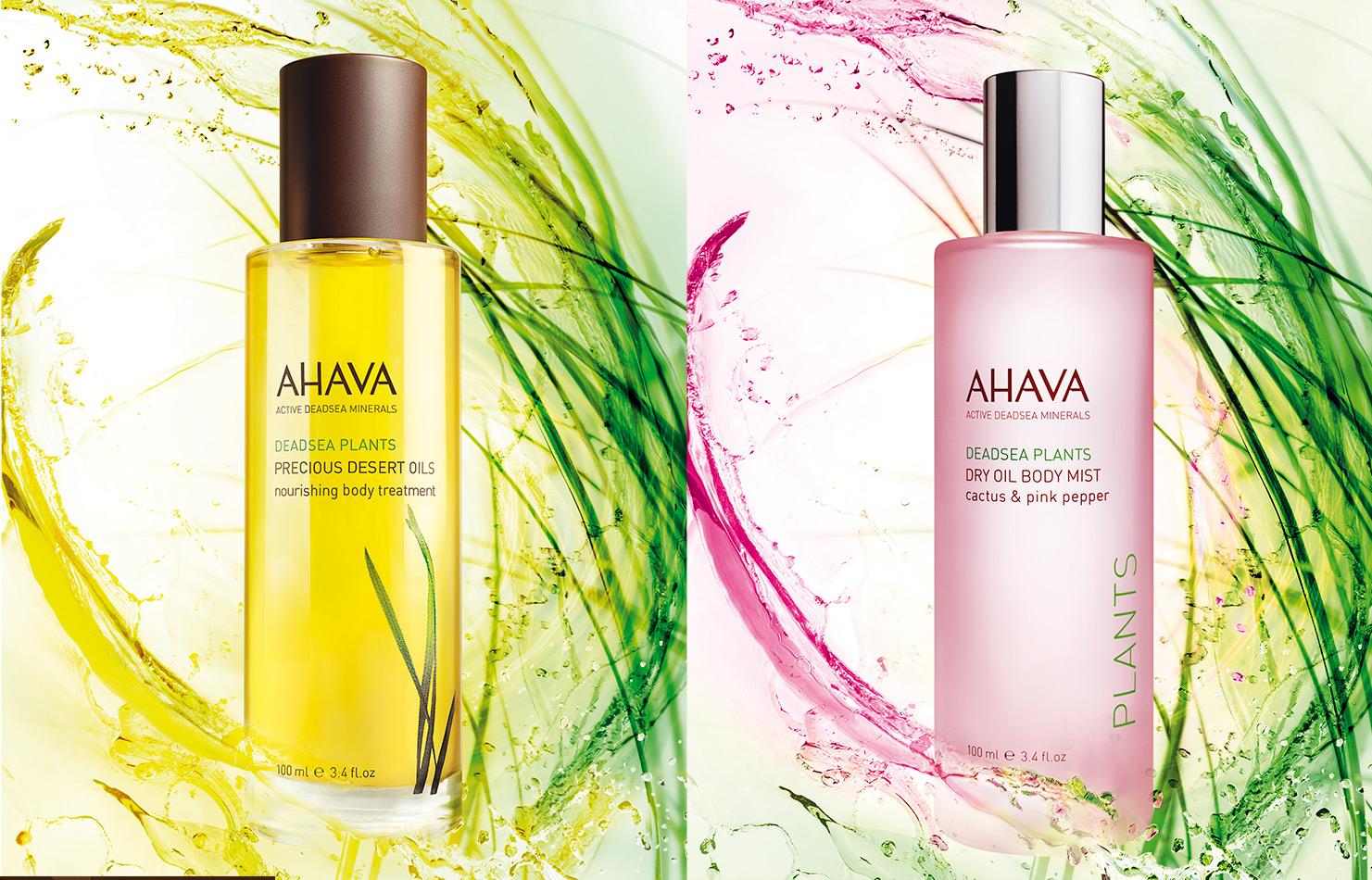 Cosmetics Ahava Deadsea Plants