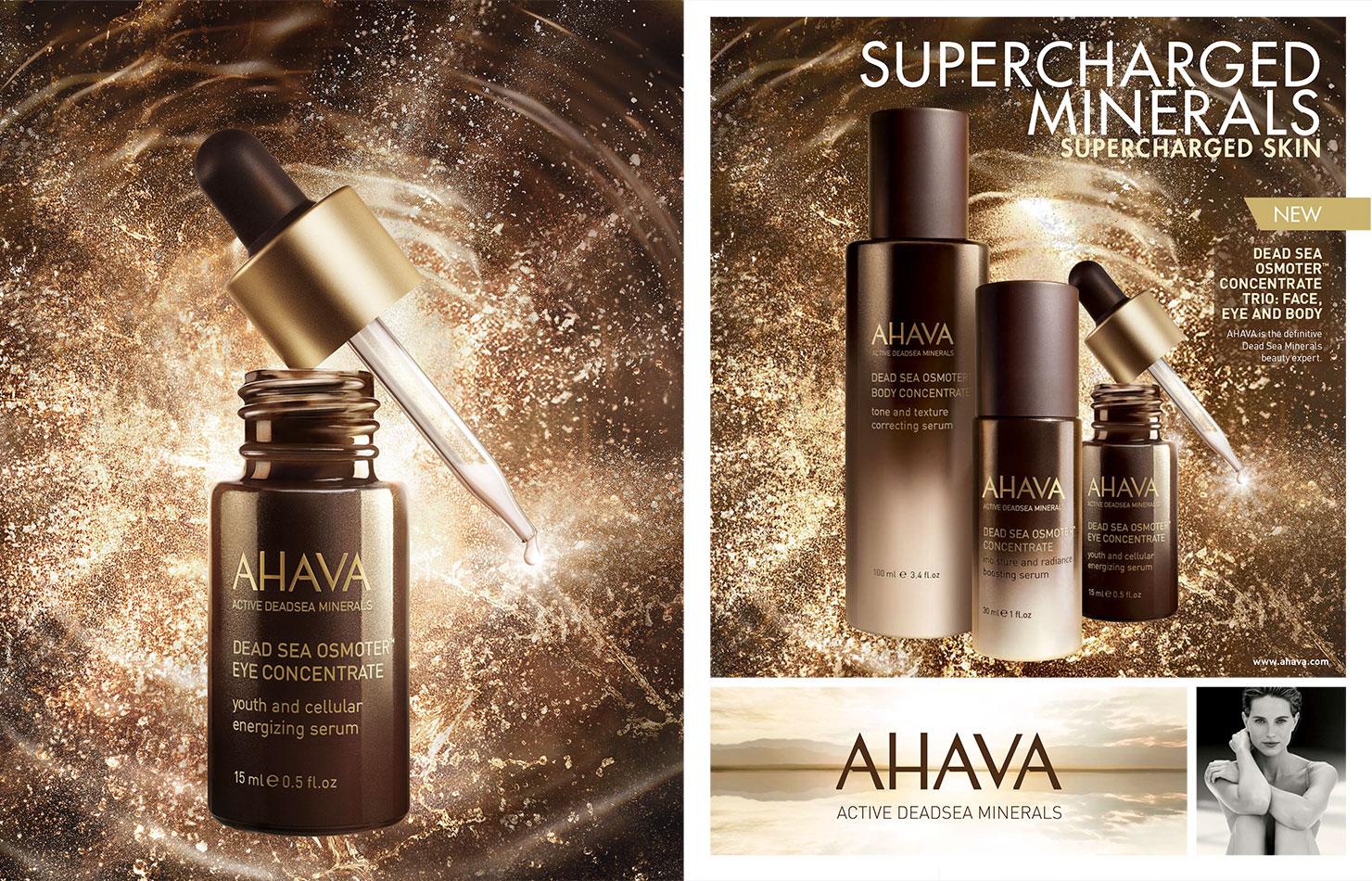 Cosmetics Ahava Osmoter